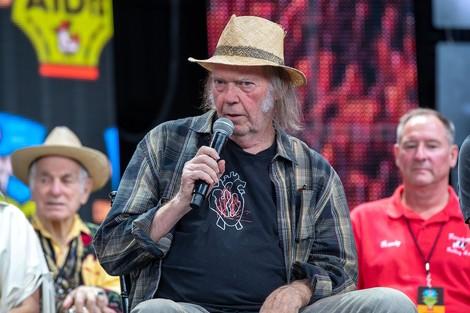 Doch keine Lachnummer: Neil Young