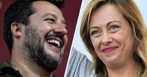 Rechtspopulisten in Italien suchen Aufmerksamkeit mit Verschwörungstheorien