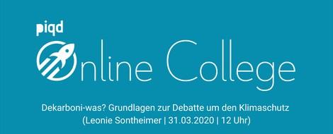 Dekarboni-was? Grundlagen zur Debatte um den Klimaschutz (Leonie Sontheimer | 31.03.2020 | 12 Uhr)