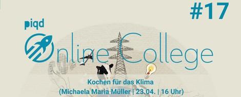 Kochen fürs Klima (Michaela Maria Müller | 23.04. | 16 Uhr)