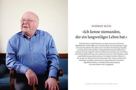 Interview mit Norbert Blüm. Ein guter Mensch.