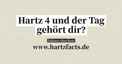 #hartzfacts: Was weißt Du über Hartz IV?