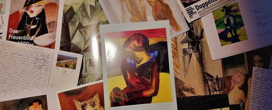 Die Kunstdruckkarten meines Vaters