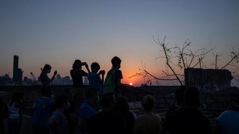 Die Explosion in Beirut in Bildern