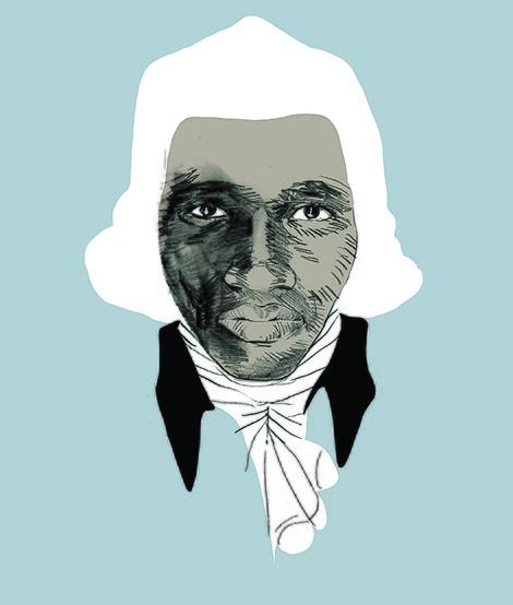 Ein Porträt des Philosophen Anton Wilhelm Amo