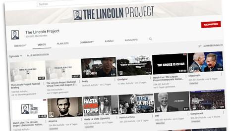 Trumps Parteifeinde – wer steckt hinter dem Lincoln Project?