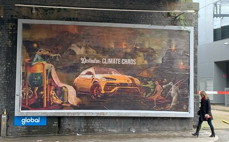 Ehrliche Werbung: Künstlernetzwerk parodiert Anzeigen für Autos