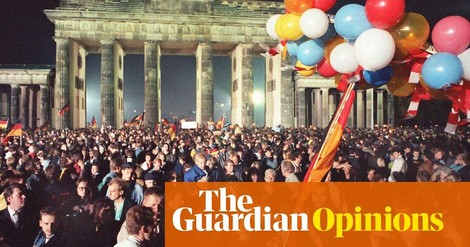 Hellsichtige congratulations zu dreißig Jahren German reunification