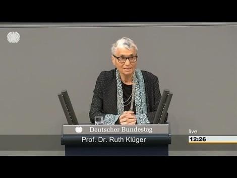 Gestern & Heute: Ein kleines Dossier zum Tod der großen Ruth Klüger