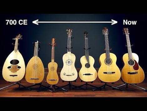 Die Geschichte der Gitarre