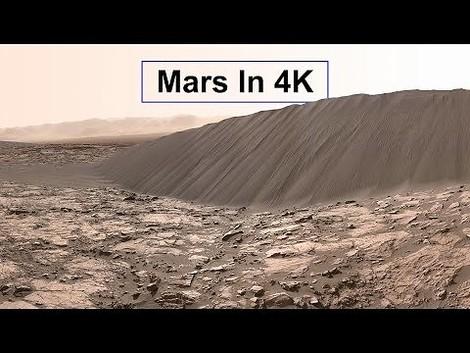 Wie es ist, auf dem Mars zu sein