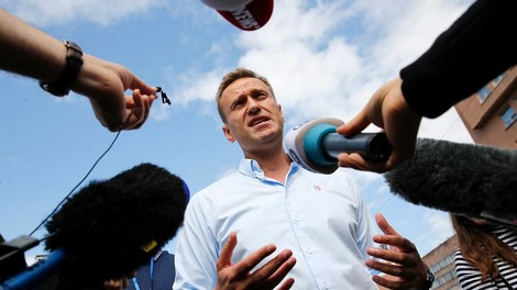 Zwischen Nationalismus und Friedensnobelpreis: Alexej Nawalny