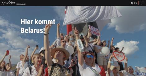 """Hier kommt Belarus!"" – 200 Tage Proteste in Belarus"