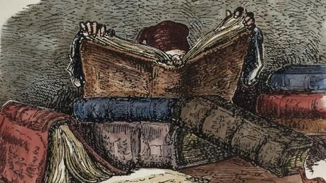 Von der Sucht des Lesens
