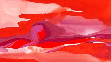 Ein Meer aus Blut
