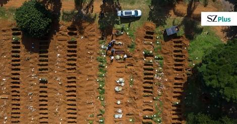 Als hätte der Tod eine Strichliste geführt: Bildessay aus Brasilien