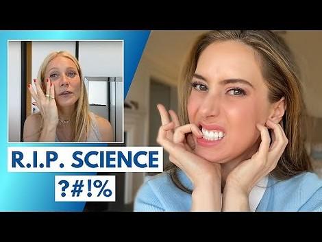 Eine Dermatologin nimmt Gwyneth Paltrows Kosmetik auseinander
