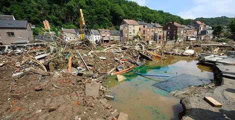 14 Mal mehr Regenfluten in Mitteleuropa