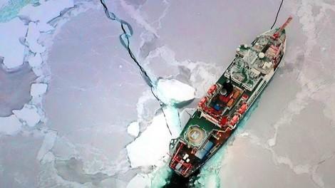 """Die Eisdrift der """"Polarstern"""""""