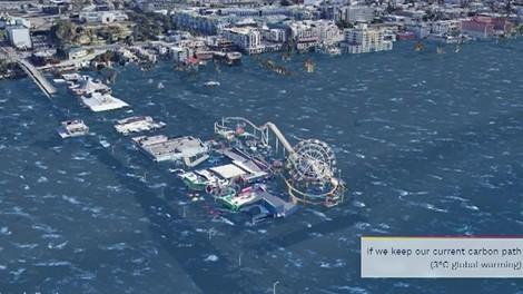 Zwei Meter Meerespiegelanstieg stehen schon fest