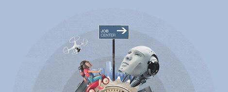 Die Zukunft der Arbeit zieht in deutschen Amtsstuben ein